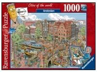 Ravensburger: Cities of the World - Amsterdam (1000)