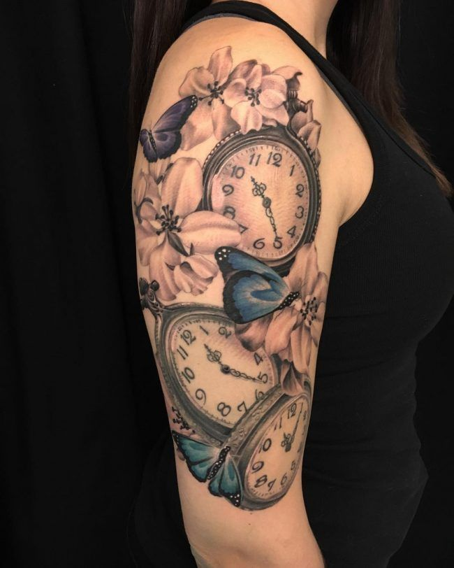 125+ timeless pocket watch tattoo ideas – a classic and modern totem