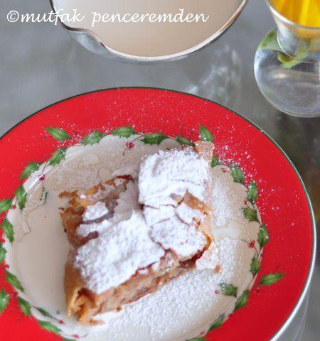 Apfelstrudel / Viyana Usulü Klasik Elmalı Strudel Yapıyoruz | mutfak penceremden
