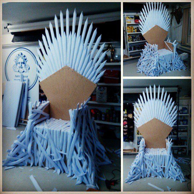 ГРИМ И СПЕЦЭФФЕКТЫ - форум для мастеров кино - Как сделать железный трон из Игры престолов