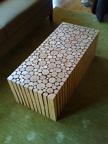 Modern Log Coffee Table, So Cool Looking