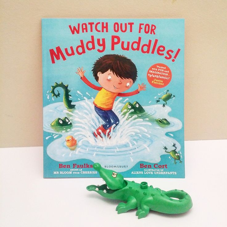 The story is written in rhyme that flows well and invites reader to explore the puddles within the pages, while also inspiring ideas for imaginary play at home.