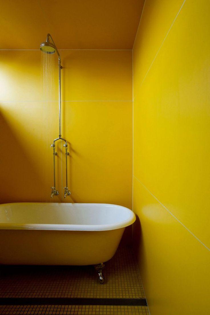 the 25 best yellow minimalist style bathrooms ideas on pinterest