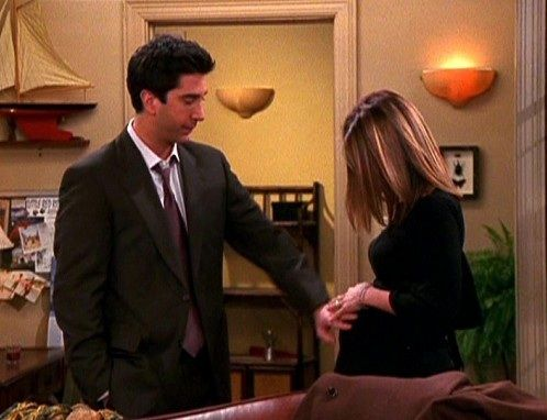 Pregnant Rachel The One in Massapequa.  One of my fave episodes ever.