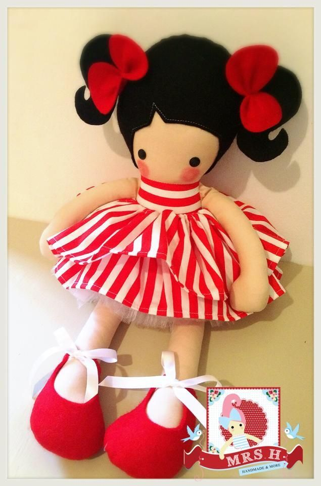 "19"" handmade doll with removable tutu, 2 skirts and removable shoesCE marked and suitable for all agesHandwash only"