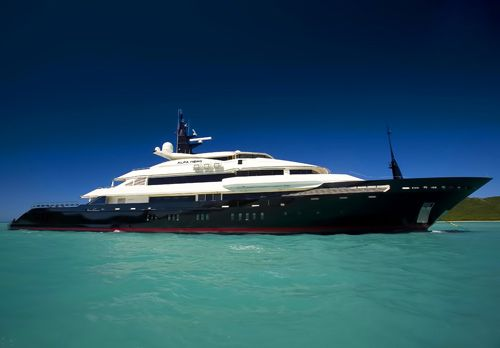 Ok, another yacht added to the cars/motorcycle category because it is cool.