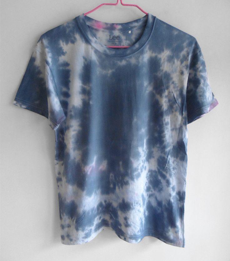 Bright Star Tie-Dye Hippie Punk Skateboard Dead Fly Couple Models Cotton T-shirt