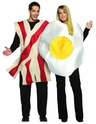 Bacon and Eggs Couples Costumes