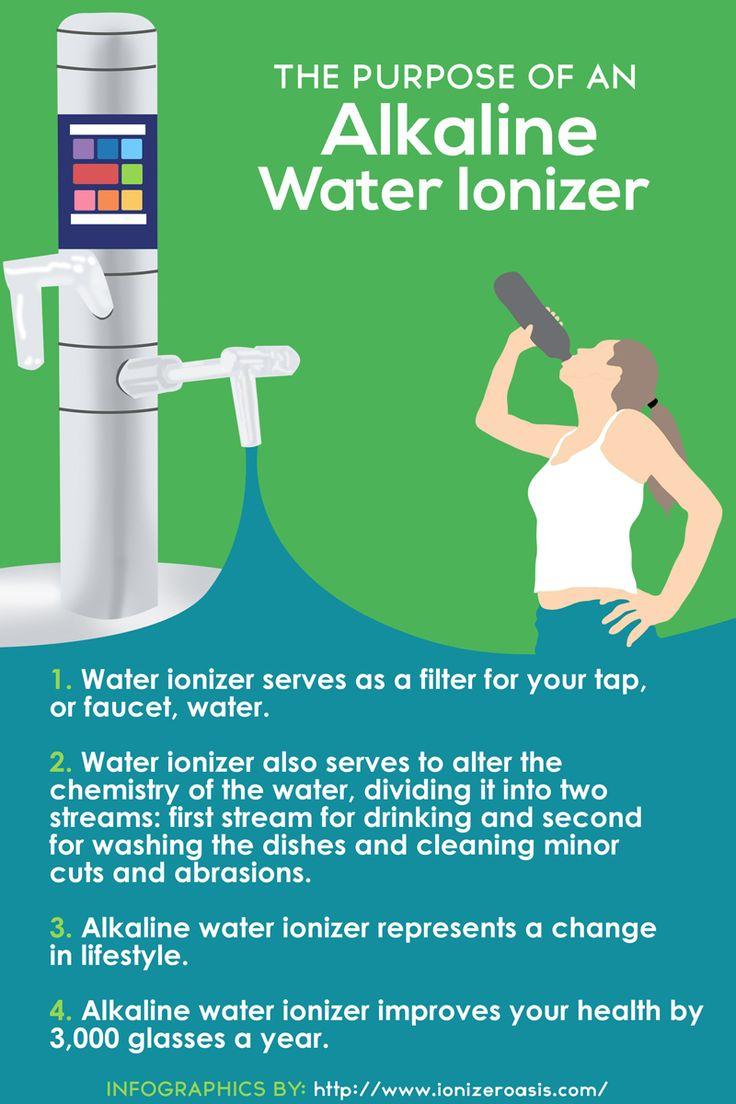 The Purpose of An Alkaline Water Ionizer http://www.ionizeroasis.com/pages/the-purpose-of-an-alkaline-water-ionizer.html
