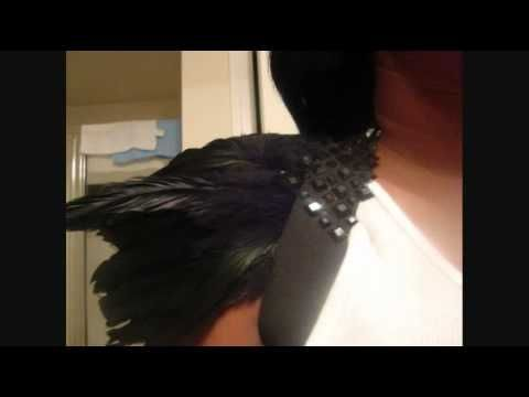 This Preview of my Halloween costume So Far..Hope you all enjoy! Gloves: Target $3.00!! In the Halloween section Makeup: http://www.youtube.com/watch?v=KLvos...