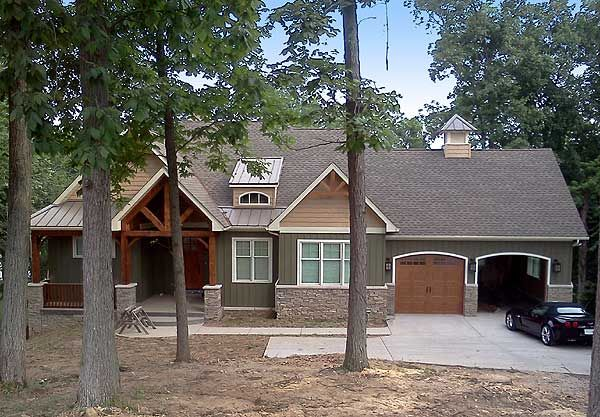 Plan W17650LV: Cottage, Craftsman, Sloping Lot, Photo Gallery House Plans & Home Designs
