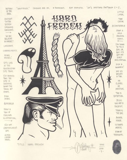 """Hard French"", 2015."
