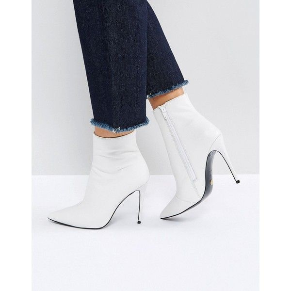 Kurt Geiger Ride Leather Ankle Boots