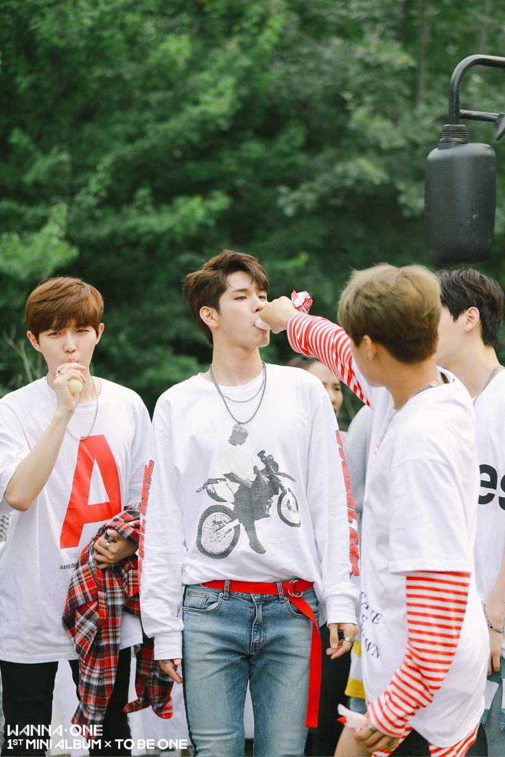 Wanna One 옹성우 (Ong Seongwoo) 김재환 (Kim JaeHwan) 박우진 (Park Woojin)