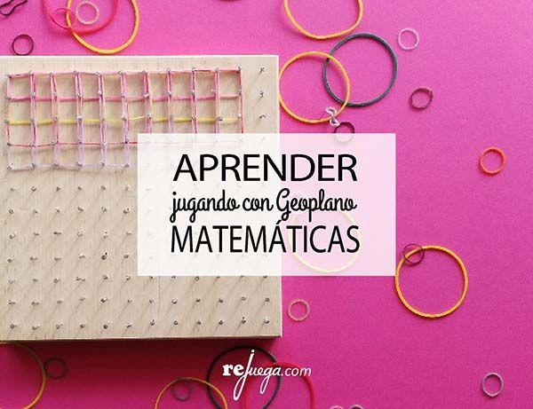 aprender matemáticas jugando: geoplano. Cómo hacerlo y para qué sirve  #Geoplano #primaria #matemáticasmanipulativas