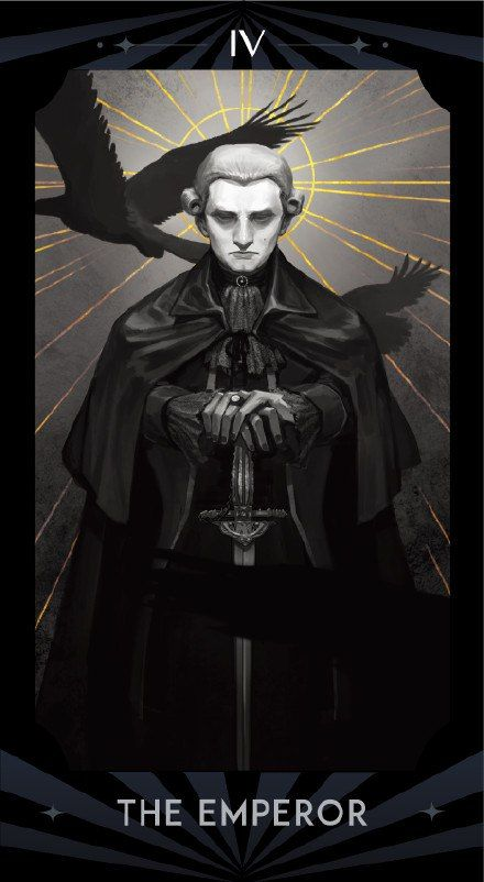 Tarot Mozart, The Emperor
