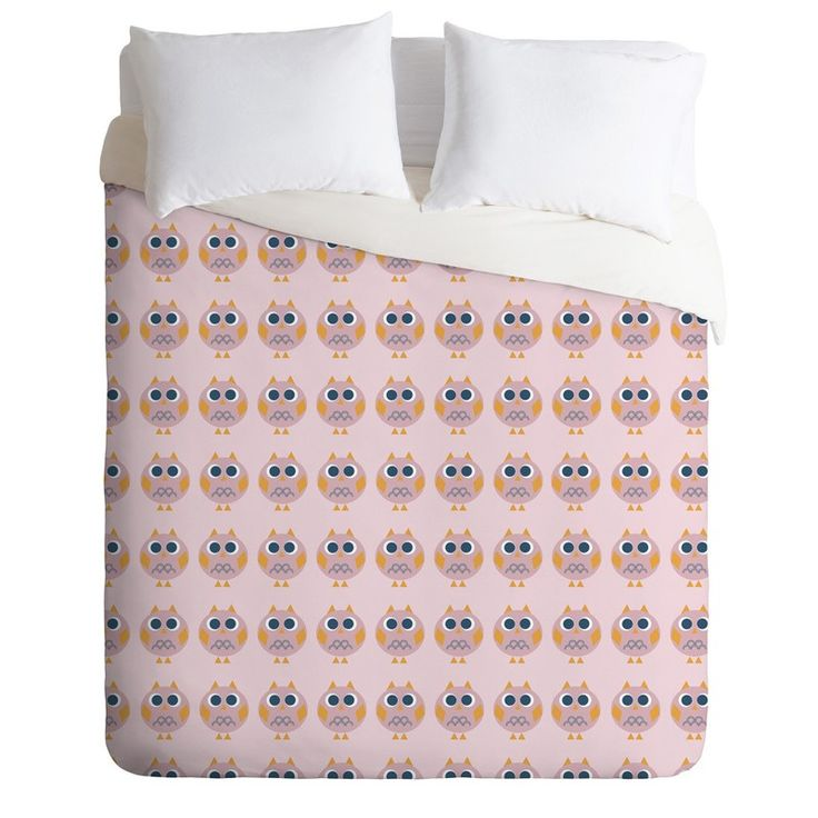 Rosenberry Rooms has everything imaginable for your child's room! Share the news and get $20 Off  your purchase! (*Minimum purchase required.) Geo Owl Print Pink Lightweight Duvet Cover