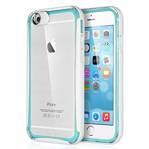 iPhone 6 Case, ULAK [Lumenair Series] Case for iPhone 6 4.7 inch Incoming Call Flash Message Blink Hybrid Cover with PC Hard Transparent Back Panel + Luminous Soft Protective Bumper Case (Blue) ULAK http://www.amazon.com/dp/B010PCSMES/ref=cm_sw_r_pi_dp_vo4Kvb173NRKE