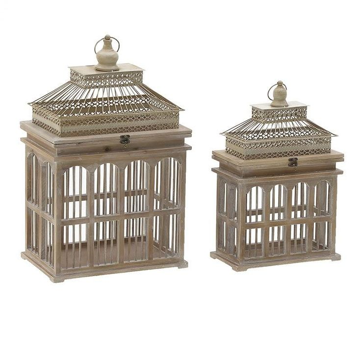 Lantern Set Of 2 Pieces - inart