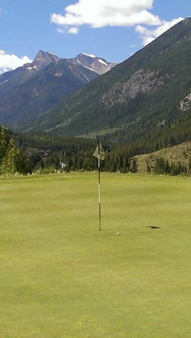 6th hole at Grey Wolf.  Yes I made the putt.