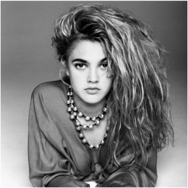 Vintage Fashion and Style Blog // Is It Vintage?: Get the Look - Drew Barrymore's 90s hairstyle