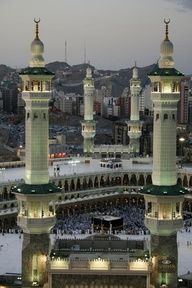The Sacred Mosque, Masjid al-Haram, Saudi Arabia