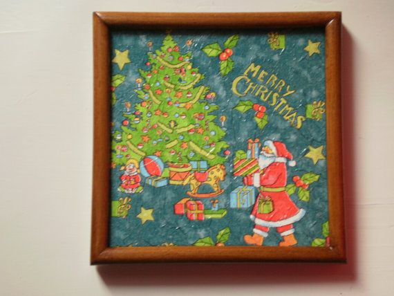 christmas frame 2 / free combined shipping by KaterinakiJewelry