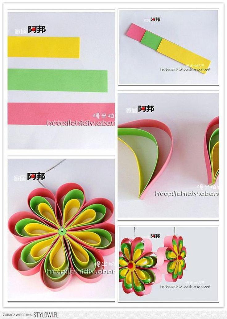 multi-colour flower petals
