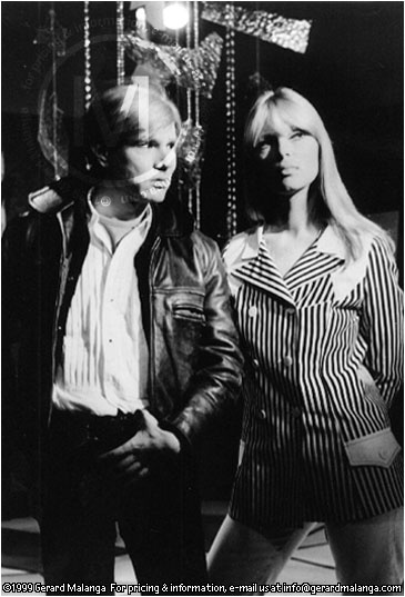 Legend has it that Nico told Andy: 'I want to sing' and he introduced her to his latest protégés, The Velvet Underground, a part of Warhol's mixed-media Exploding Plastic Inevitable troupe until 1967.