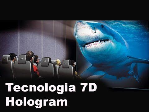 Tecnologia 7D Hologram - YouTube