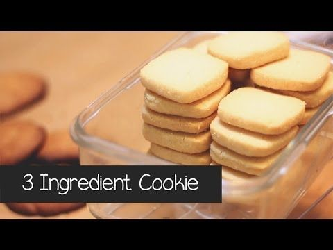 Anyone Can Make These 3-Ingredient Cookies