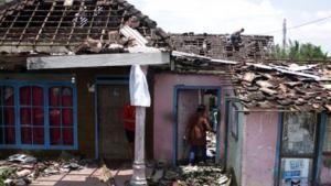 25 Rumah Rusak Akibat Terjangan Puting Beliung di Bondowoso
