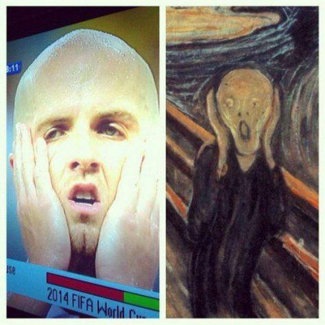 Parecidos: El grito de Van Gogh