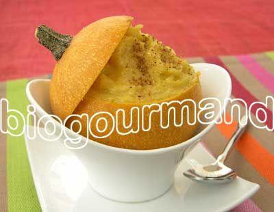 Pommes d'or à la coque, mousseline tiède à l'huile de sésame et poudre de cardamome - Blog cuisine bio - Recettes bio Cuisine bio sans gluten sans lait