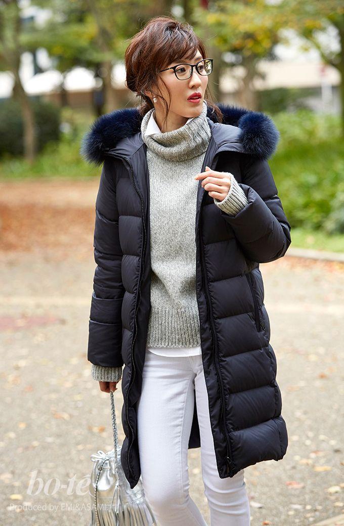 寒さ対策バッチリ!ダウンコートを羽織った冬のアクティブコーデ2#fashion #coordinate #ファッション #ダウンコート