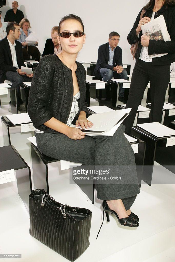Photo d'actualité : Virginie Ledoyen attends the Chanel 'Haute...