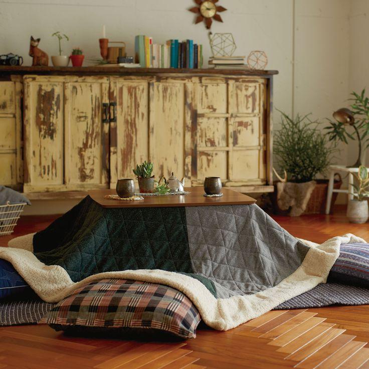 カルバー コタツ布団 (20166) - ルルカのラグ・ファブリック   おしゃれ家具、インテリア通販のリグナ