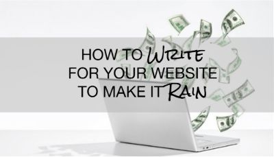 The most common mistake business owners make is the failure to answer one simple question for your audience. https://www.linkedin.com/pulse/how-write-your-website-make-rain-laurel-anne-stark?utm_content=bufferf80e5&utm_medium=social&utm_source=pinterest.com&utm_campaign=buffer