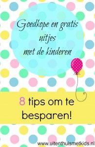 Goedkope en gratis uitjes met de kinderen. 8 tips om te besparen. Uit & Thuis met Kids