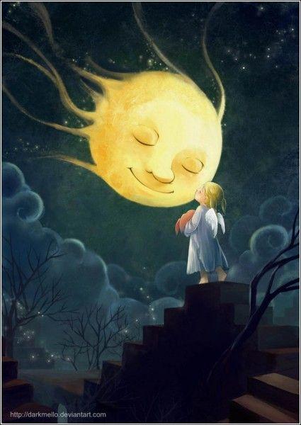 Вечное сияние чистого детства: цифровая живопись Мелани Си (Melani Sie) | Живопись | Арт