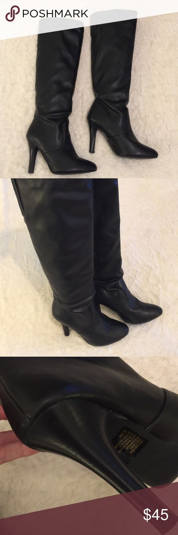 "Colin Stuart Knee High Boots Stunning Colin Stuart knee high boots originally purchased from the Victoria's Secret catalog. 3.75"" heel. Colin Stuart Shoes Heeled Boots"