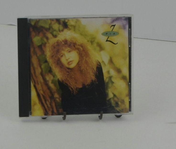CD Pia Zadora Pia Z Pop CBS Records 1989 RARE 80s Music Free Shipping #TraditionalVocal1980s