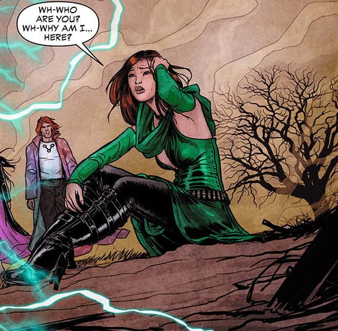 dc comics enchantress | The Enchantress and June are merged back into a single being.