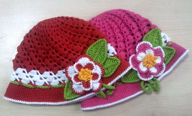 Ravelry: Flower Children's hat pattern by Irina Dmitrieva