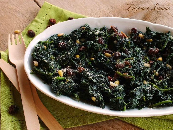 Gli spinaci alla genovese sono un contorno semplicissimo da preparare, ma molto appetitoso e stuzzicante. Pochi ingredienti e il gioco è fatto.