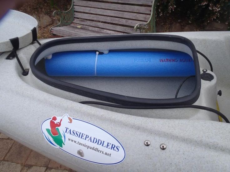 pool noodles to prevent kayak from sinking - Google Search