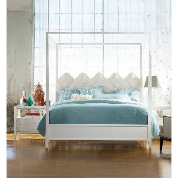 Quatrefoil 3 Pc Queen Poster Bedroom Set From Hooker Furniture At Toms Price  Furniture