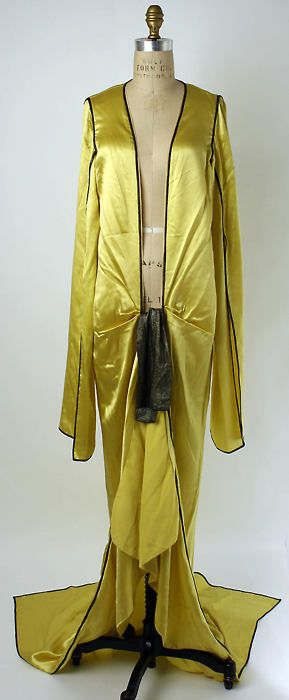 Negligée by Jesse Turner Franklin, 1920-39 US, the Met Museum. @designerwallace