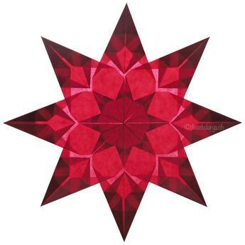 Beautiful window star tutorial, www.deschdanja.ch