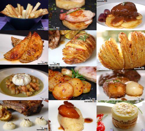 Doce recetas de patatas para guarnición